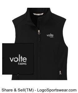 Women's soft shell vest Design Zoom