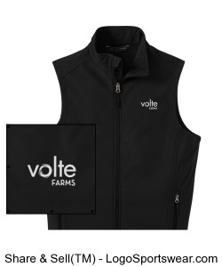 Men's softshell vest Design Zoom